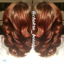 balyage,haircut and style by chakra beauty